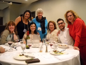 BCHNS Member Glennis Zilm with Nurse Scholars & Educators from Spain