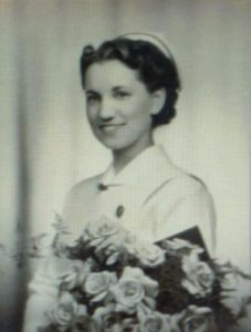 From McIver's personal collection Graduation photo 1941 BCHNS