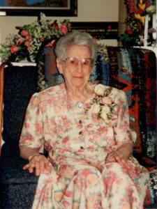 Alice Wright August 22,1994 100th Birthday