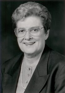 Helen Shore, second President of the BC History of Nursing Professional Practice Group 1992- 1994