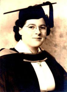 Graduation UBC 1942 BSc with Major in Nursing