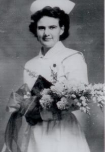 Graduation photo from biographical file