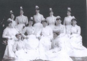 hogan-back-row-far-left-st-michaels-hospital-1904