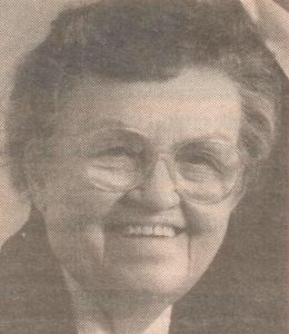 Sister Mary Celistine