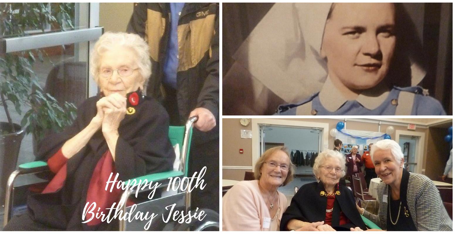 Jessie Middleton 100th birthday