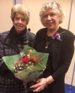 BCHNS member, Sheila Oxholm with friend Lynette Best. Photo Credit: BCHNS Lenore Radom