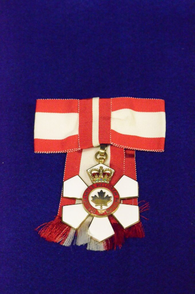 1971 Order of Canada medal